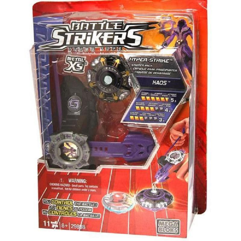 mega bloks battle stikers set metal manual launcher