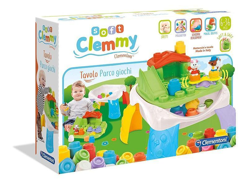 clementoni 14829 clemmy tavolo parco giochi