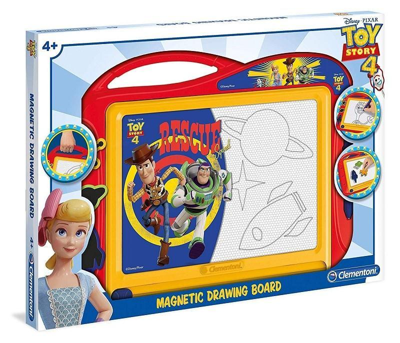 clementoni 15294 toy story 4 lavagna magnetica