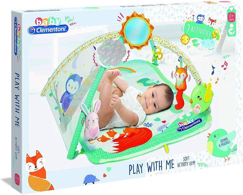 clementoni 17247 baby clementoni palestrina play with me 7 attivita'