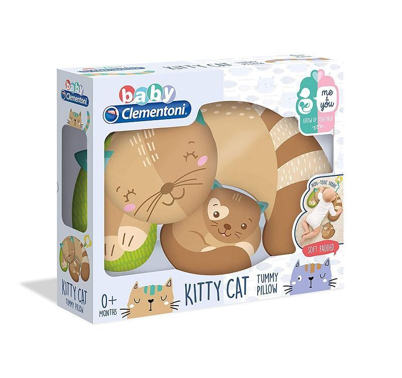 baby clementoni 17278 kitty cat cuscinetto primi mesi