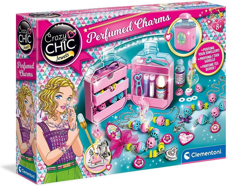 clementoni 18600 crazy chic perfumed charms