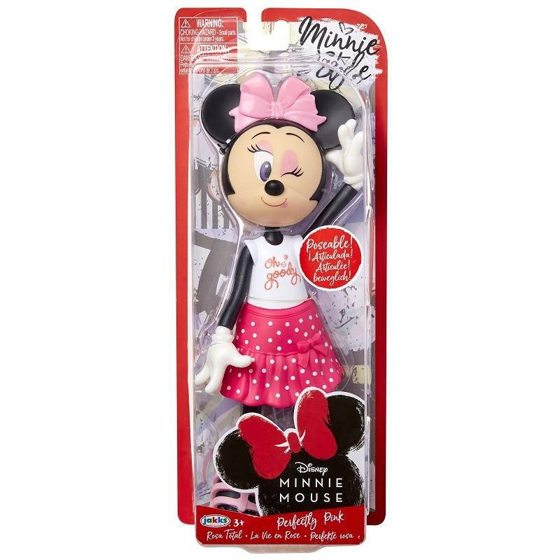 jakks pacific minnie style bambola 4 modelli assortiti