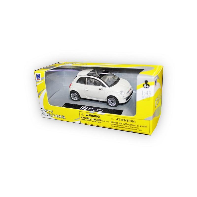 new ray 19587 auto fiat 500 scala 1:43 assortite