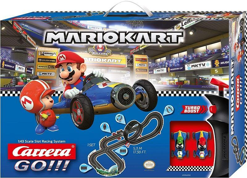 carrera 20062492 mario kart pista 5,3 m turbo boost