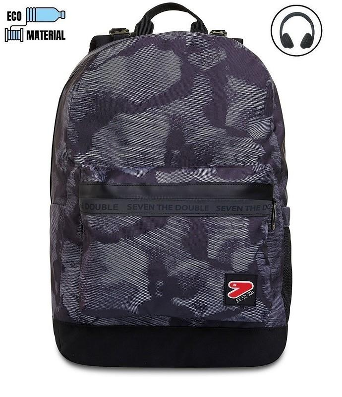 seven 2010021d3899 seven zaino reversibile backpack smoked camo 21/22