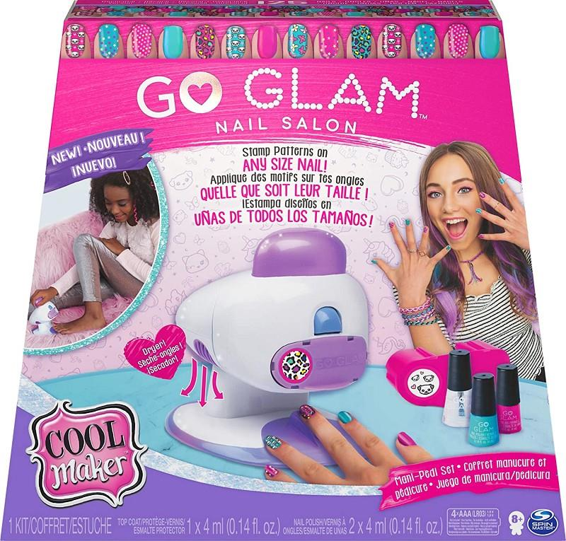 spin master 20120187 cool maker go glam nail salon set unghie