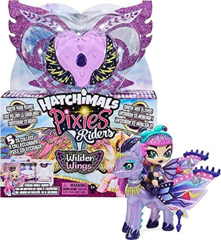 spin master 20128606 hatchimals pixies riders