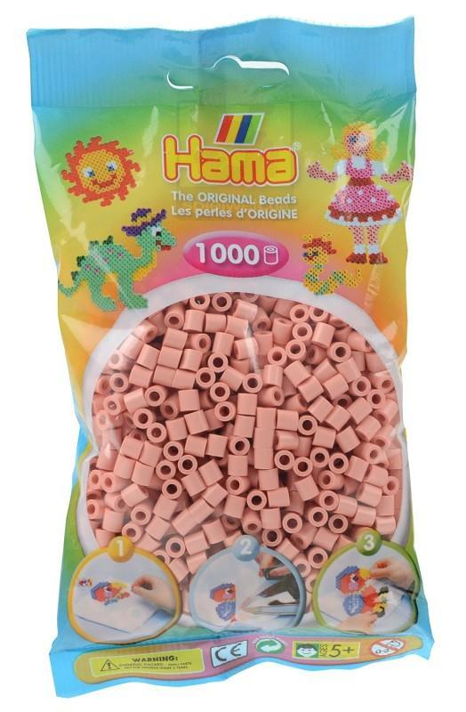 hama beads bustina 1000pz color carne