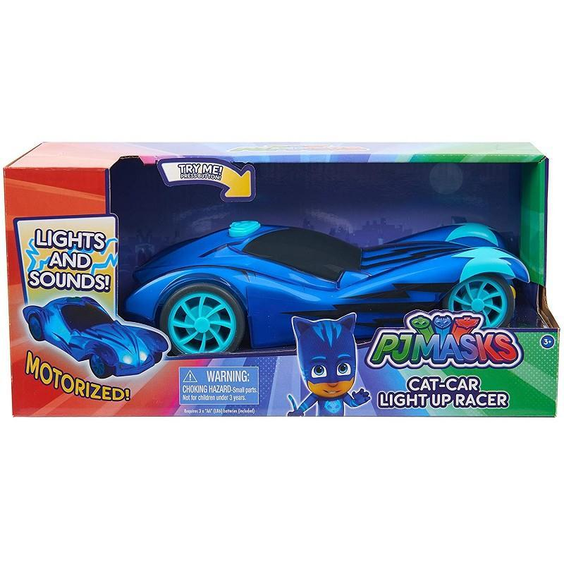 pjmasks veicolo light up racers 2 modelli