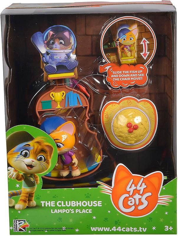 smoby 44 gatti playset deluxe clubhouse di lampo