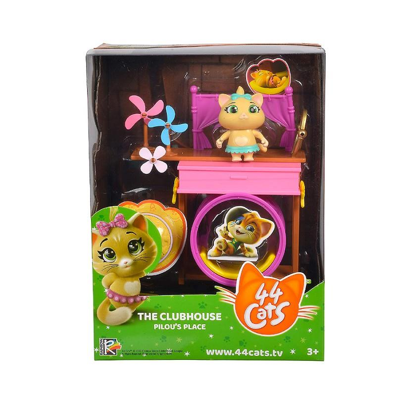 smoby 44 gatti playset deluxe clubhouse pilou