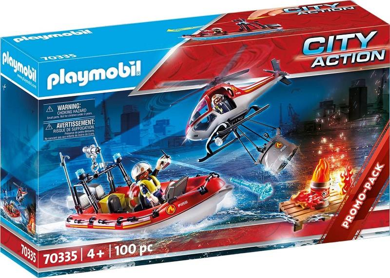 playmobil city action 70335 missione antincendio