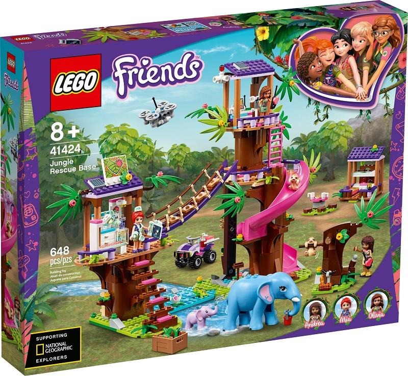 lego friends 41424 base soccorso tropicale