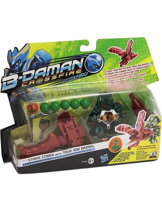 hasbro b-daman personaggio con accessori