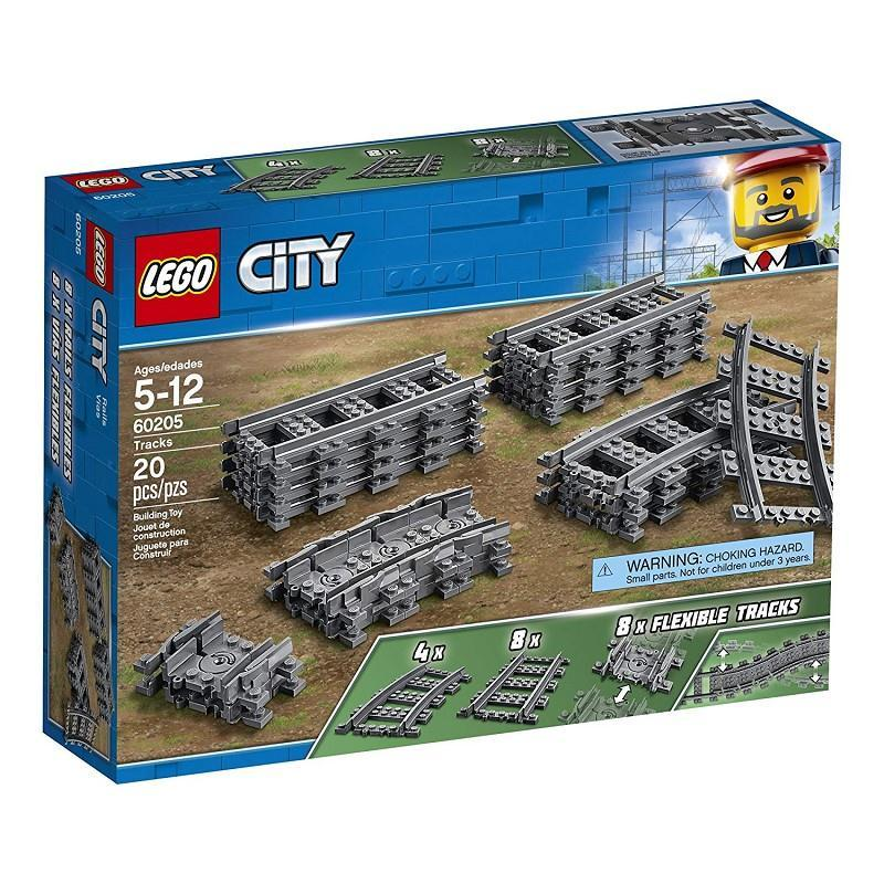 lego city 60205 binari flessili