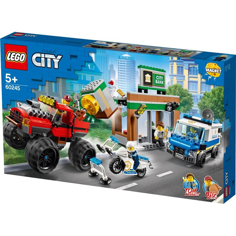 lego city 60245 rapina monster truck