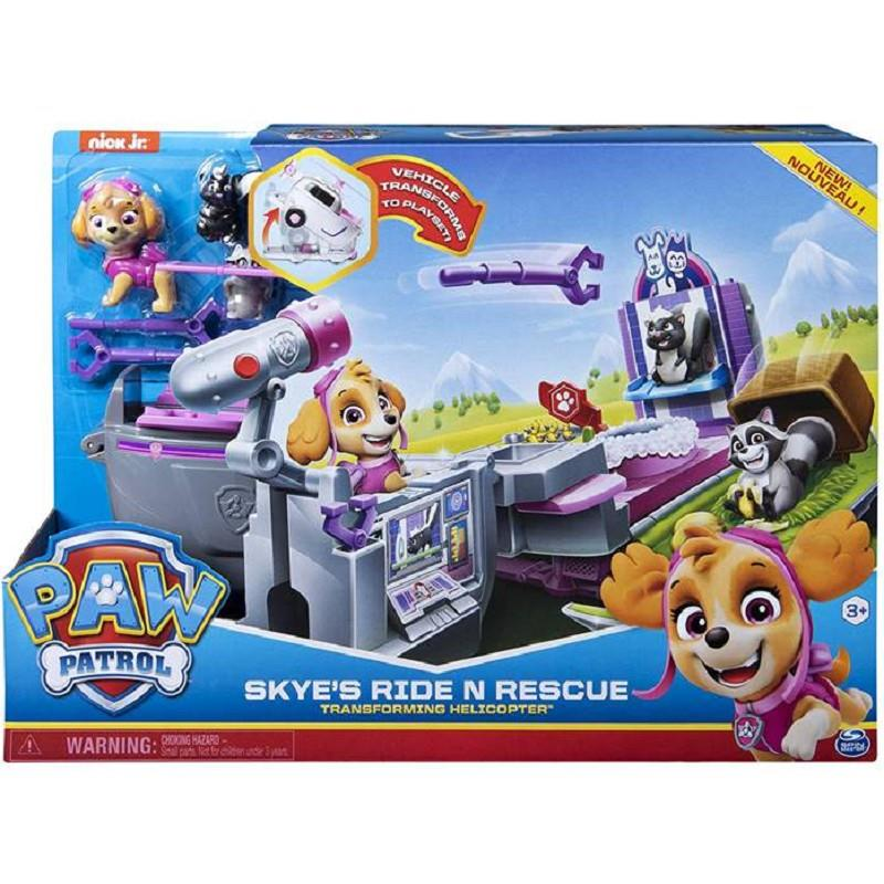 spin master 6046797 paw patrol camion trasformabile+pers.