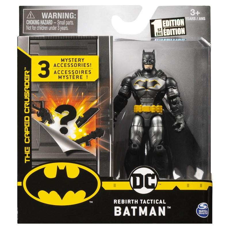 spin master 6058529 batman personaggi assortiti +3 accessori top secret