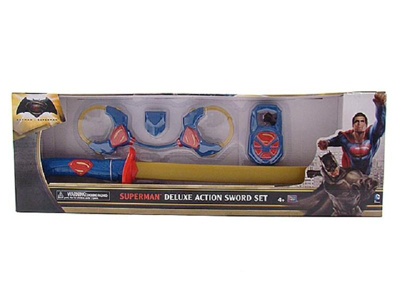 superman deluxe action set armatura e accessori