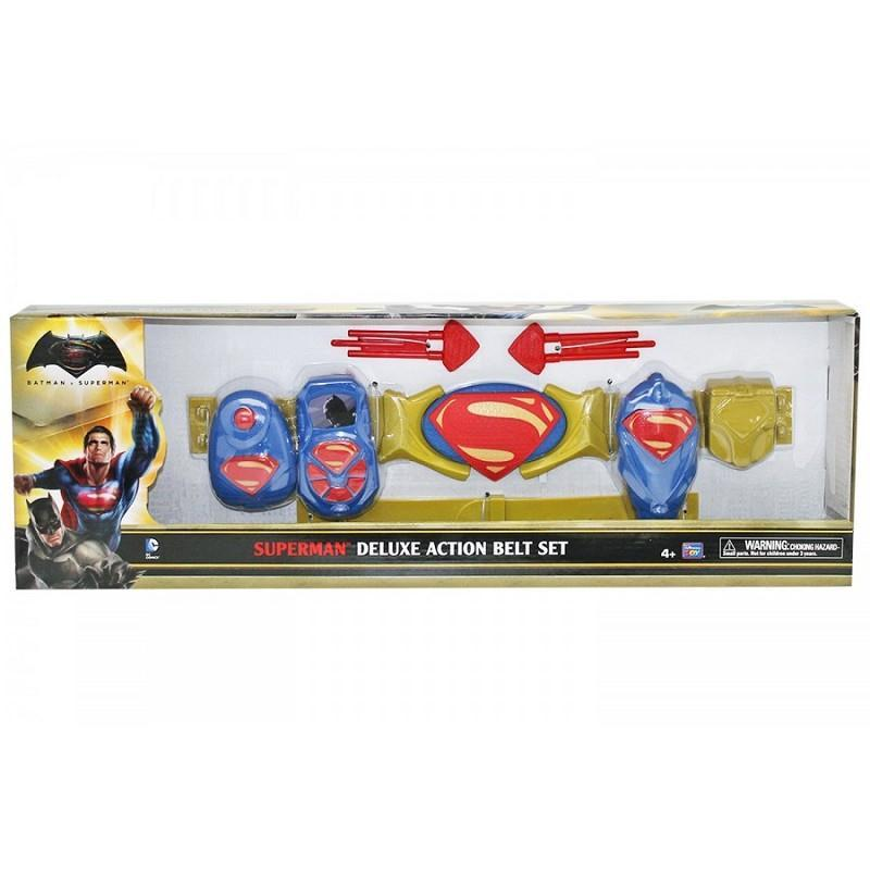 mtw toys 63490 superman deluxe action set cintura e accessori