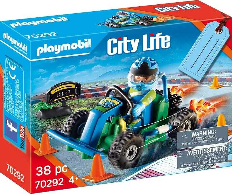 playmobil city life 70292 go kart
