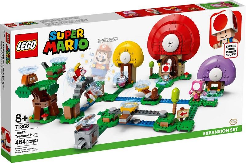 lego super mario 71368 toad's treasure hunt