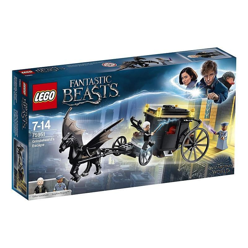 LEGO 71022 WIZARDING WORLD BOX 60 PERSONAGGI HARRY POTTER E ANIMALI FANTASTICI