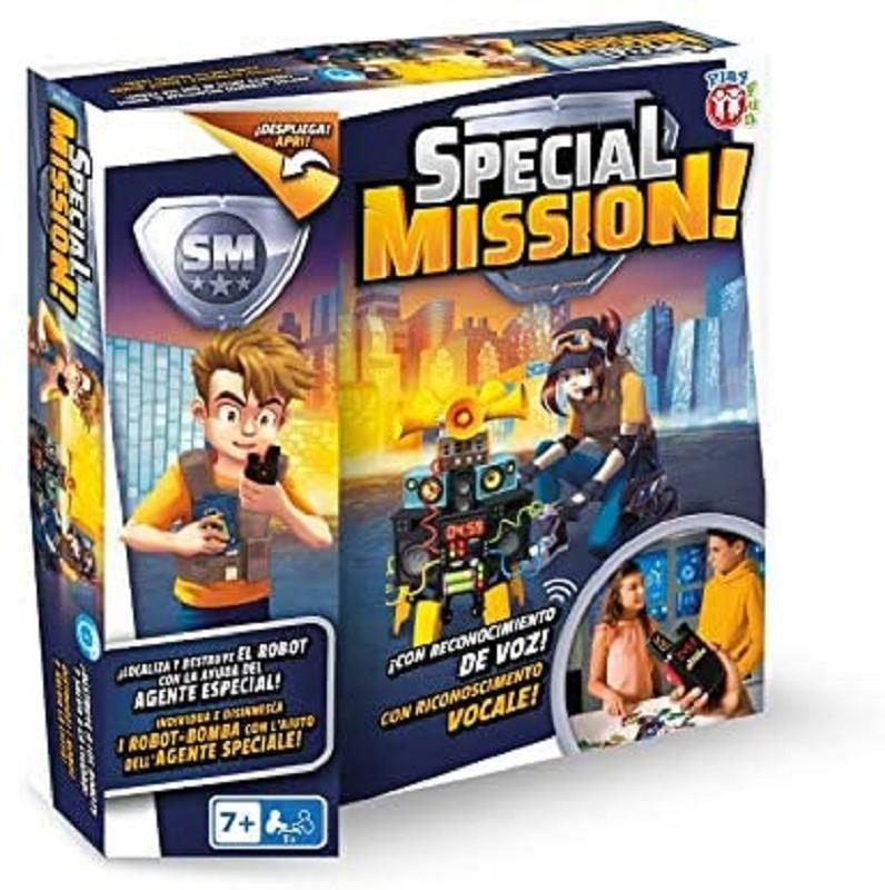 imc toys 80126 special mission stop the robot