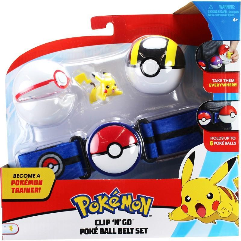 giochi preziosi pke17000 set cintura pokeball con personaggio assortiti