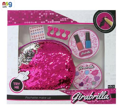 NICE GROUP GIOCATTOLI ACCESSORI DI BELLEZZA NICE GROUP 02511 GIRABRILLA POCHETTE MAKE UP