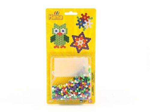 HAMA GIOCHI EDUCATIVI GIOCHI CREATIVI HAMA BLISTER ASS. 450 BEADS