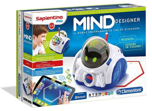 CLEMENTONI GIOCHI EDUCATIVI GIOCHI EDUCATIVI MIND DESIGNER ROBOT EDUC.INTELLIGENTE