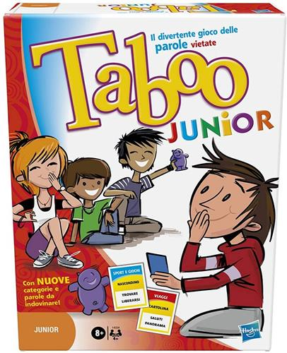 HASBRO GIOCHI DI SOCIETA GIOCHI DI SOCIETA TABOO JUNIOR REINVENTION NEW HASBRO GAMING