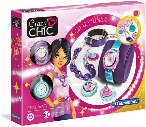 CLEMENTONI GIOCHI CREATIVI GIOCHI CREATIVI CRAZY CHIC CRAZY WATCH POP STYLE 15132