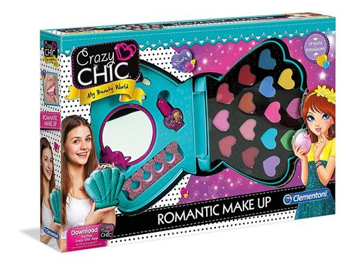 CLEMENTONI GIOCATTOLI ACCESSORI DI BELLEZZA CRAZY CHIC MAKE UP ROMANTICO 15240 CLEM.