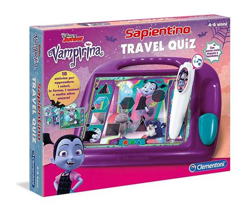 CLEARCO GIOCHI EDUCATIVI GIOCHI EDUCATIVI VAMPIRINA SAPIENTINO TRAVEL QUIZ CLEMENTONI
