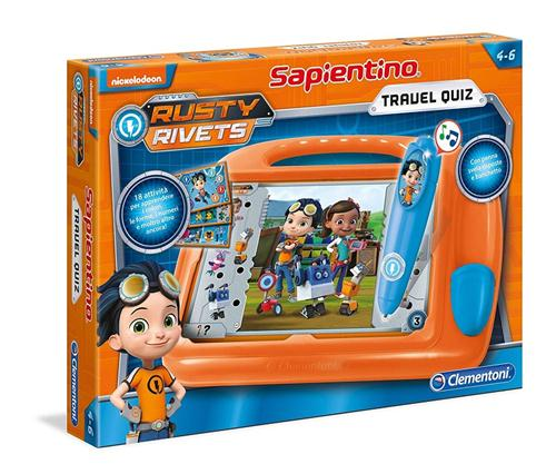 CLEARCO GIOCHI EDUCATIVI GIOCHI EDUCATIVI RUSTY RIVETS SAPIENTINO TRAVEL QUIZ CLEM.
