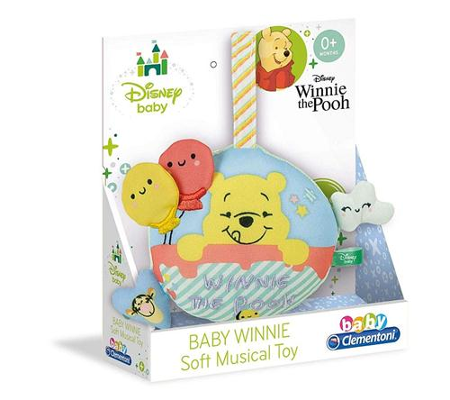 CLEMENTONI PRIMA INFANZIA CARILLION E GIOCHI DA LETTINO CARILLON WINNE THE POOH SOFT CLEM.