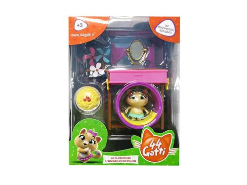 SMOBY GIOCATTOLI PERSONAGGI 44 GATTI PLAYSET DELUXE + PERS. ASS.