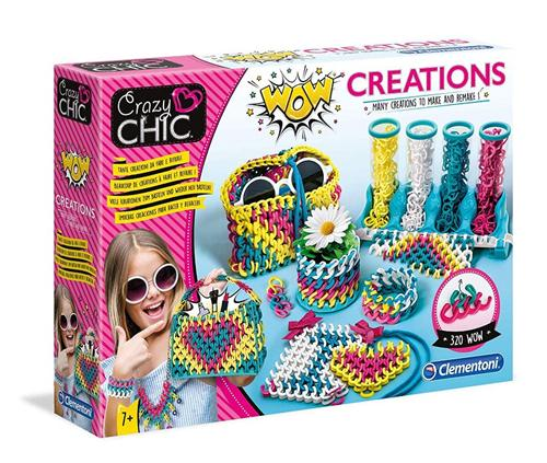 CLEMENTONI GIOCHI EDUCATIVI GIOCHI CREATIVI CLEMENTONI CRAZY CHIC WOW CREATIONS