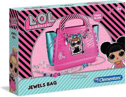CLEMENTONI ACCESSORI  BORSE LOL SURPRISE JEWELS BAG BORSA CLEM.
