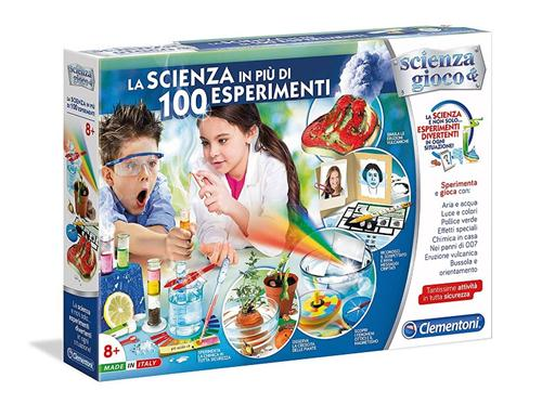 CLEMENTONI GIOCHI EDUCATIVI LABORATORI EDUCATIVI LA SCIENZA IN PIU  DI 100 ESP. NEW  CLEM.