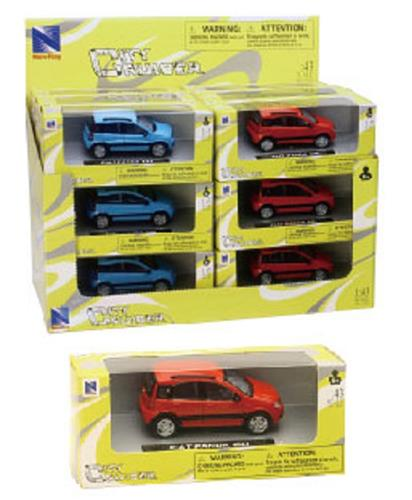 NEW RAY GIOCATTOLI AUTO E VEICOLI VARI NEW RAY CITY CRUISER 1:43 FIAT PANDA ASS.