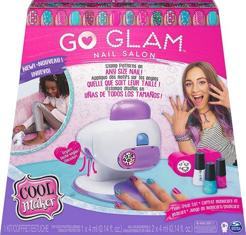 SPIN MASTER GIOCATTOLI ACCESSORI DI BELLEZZA COOL MAKER GO GLAM NAIL SALON SET UNGHIE