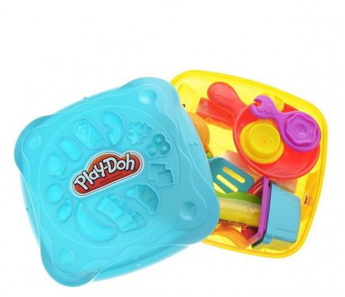 HASBRO GIOCHI EDUCATIVI PLASTILINA E SABBIA MAGICA PLAY DOH BREAKFAST 104GR ASSORTITI