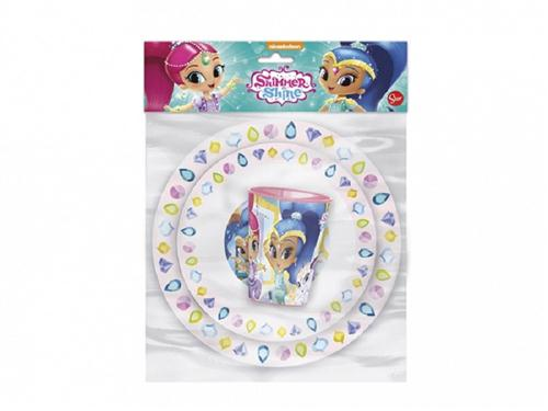 MAZZEO SCOLASTICA SET PAPPA MAZZEO SHIMMER&SHINE SET PAPPA 3PZ