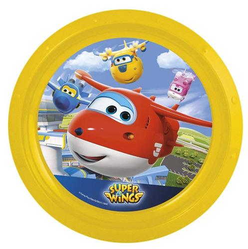 OLED SRL SCOLASTICA SET PAPPA SUPER WINGS PIATTO PIANO