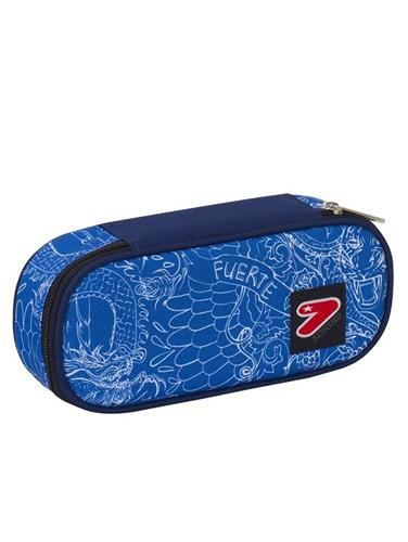 SEVEN SCOLASTICA ASTUCCI SEVEN PENCIL BAG ROUND PLUS WHIZ