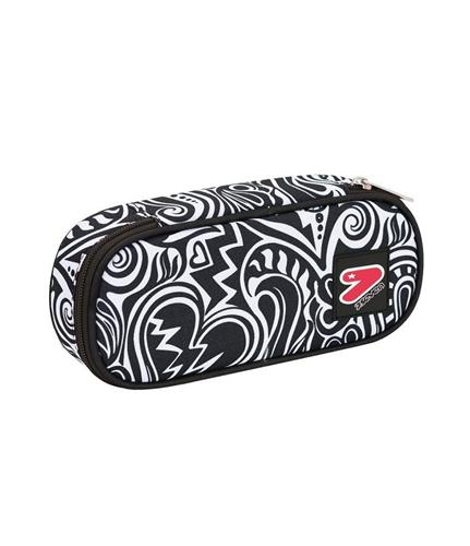 SEVEN SCOLASTICA ASTUCCI SEVEN PENCIL BAG ROUND PLUS MAZE GIRL
